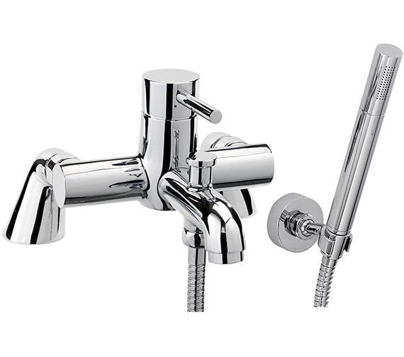 Sagittarius Ergo Pillar Bath Shower Mixer Tap With No.1 Kit