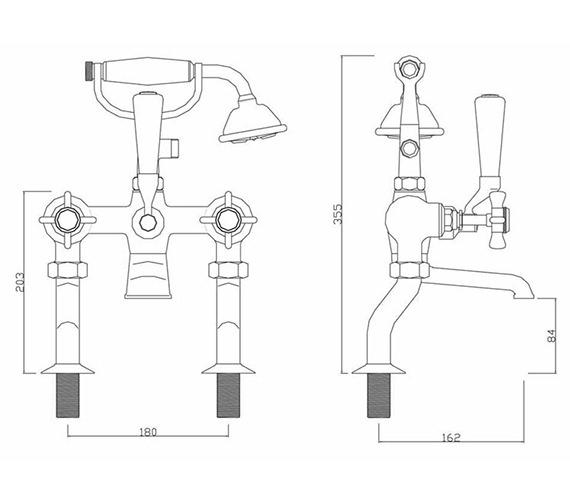 Technical drawing QS-V30272 / CH/205/C