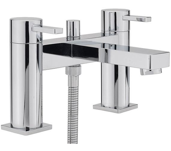 Sagittarius Evolution Deck Mounted Bath Shower Mixer Tap With No.1 Kit