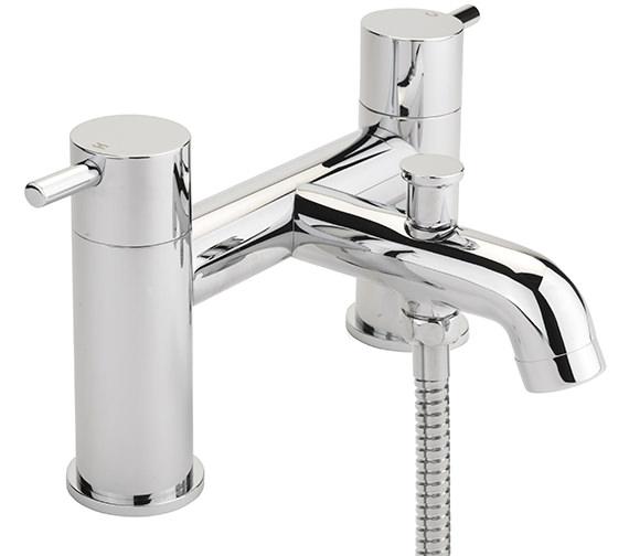 Sagittarius Ergo Deck Mounted Bath Shower Mixer Tap And No.1 Kit