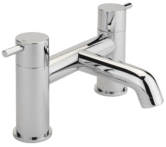 Sagittarius Ergo Deck Mounted Bath Filler Tap