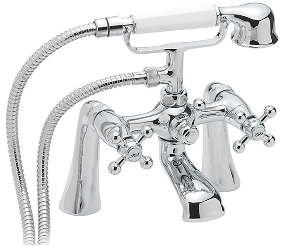 Sagittarius Fantasy Deck Mounted Bath Shower Mixer Tap With No.1 Kit