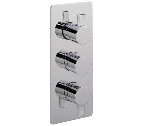 Sagittarius Evolution Concealed Thermostatic Valve With 3 Way Diverter