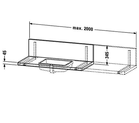 Technical drawing QS-V34130 / DL050C02222