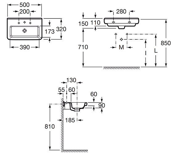 Technical drawing QS-V25271 / 327788000