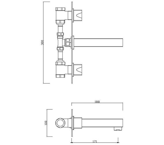 Technical drawing QS-V30470 / MA/127/C