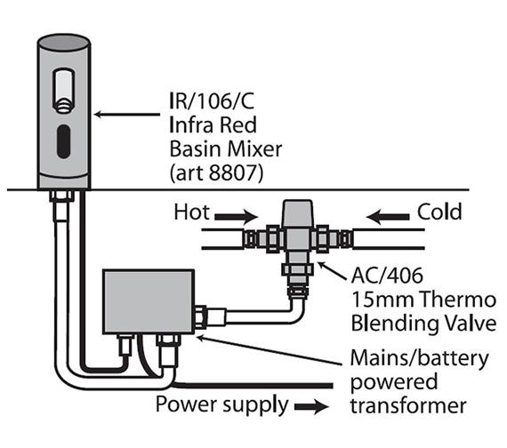 Technical drawing QS-V30239 / IR/106/C