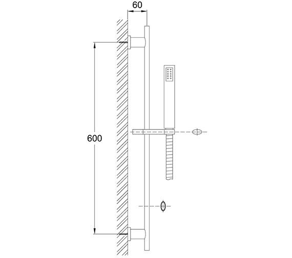 Technical drawing QS-V30170 / MT/228/C