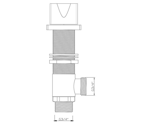 Technical drawing QS-V30555 / MA/187/C