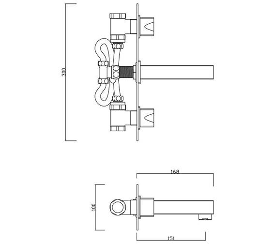Technical drawing QS-V30468 / MA/207/C