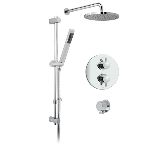 Vado Celsius Round 2 Outlet Thermostatic Shower Package