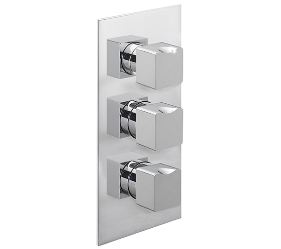 Sagittarius Matisse Concealed Thermostatic Shower Valve With 3 Way Diverter