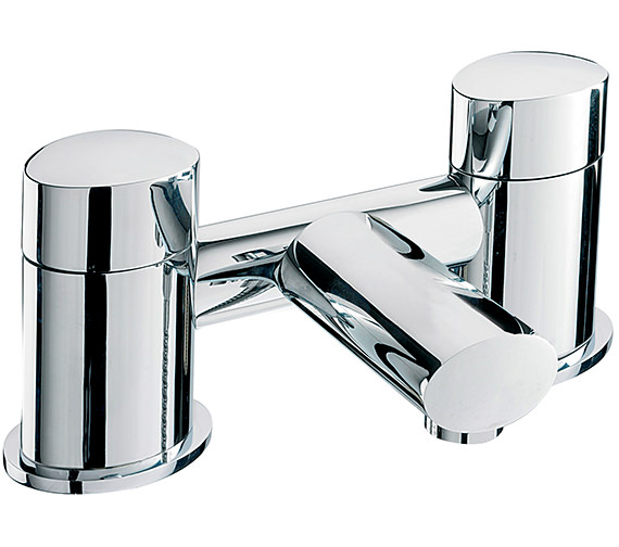 Sagittarius Oveta Deck Mounted Bath Filler Tap