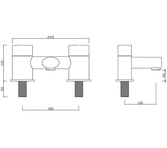 Technical drawing QS-V30287 / OV/104/C