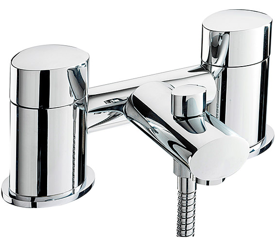 Sagittarius Oveta Deck Mounted Bath Shower Mixer Tap With No.1 Kit