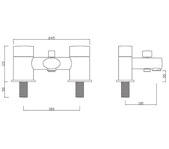 Technical drawing QS-V30291 / OV/105/C