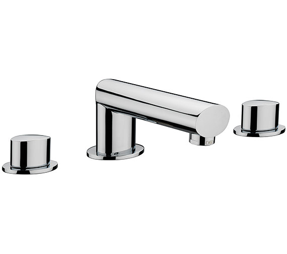 Sagittarius Oveta 3 Hole Deck Mounted Bath Filler Tap
