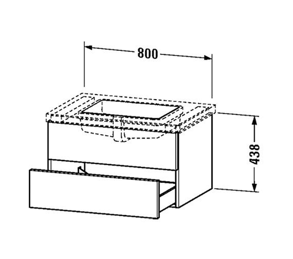 Technical drawing QS-V4548 / DL689902222