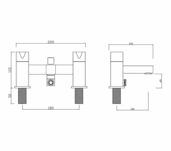 Technical drawing QS-V295 / MA/105/C