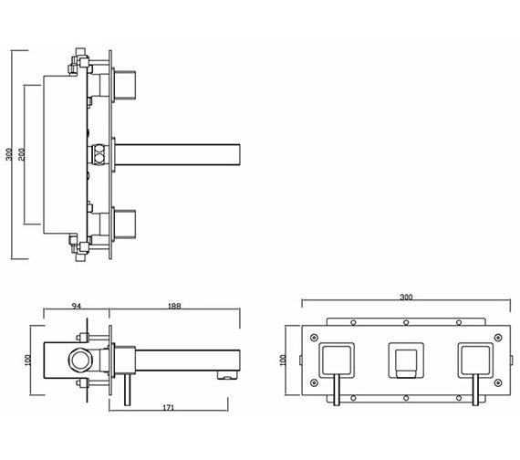 Technical drawing QS-V30452 / PA/207/C