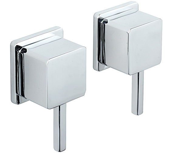 Sagittarius Pablo Pair Of 0.5 Inch Wall Mounted Side Valves