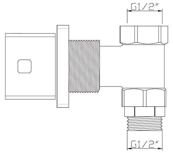 Technical drawing QS-V30460 / PA/195/C