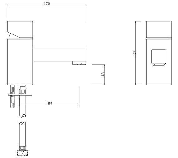 Technical drawing QS-V30453 / PA/204/C
