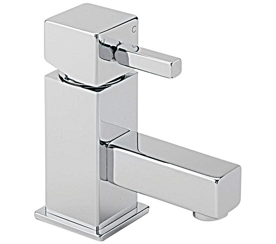 Sagittarius Pablo Cloakroom Basin Mixer Tap With Sprung Waste