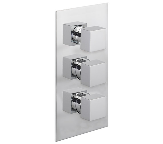 Sagittarius Pablo Concealed Thermostatic Shower Valve With 3 Way Diverter