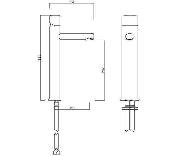 Technical drawing QS-V30285 / OV/209/C