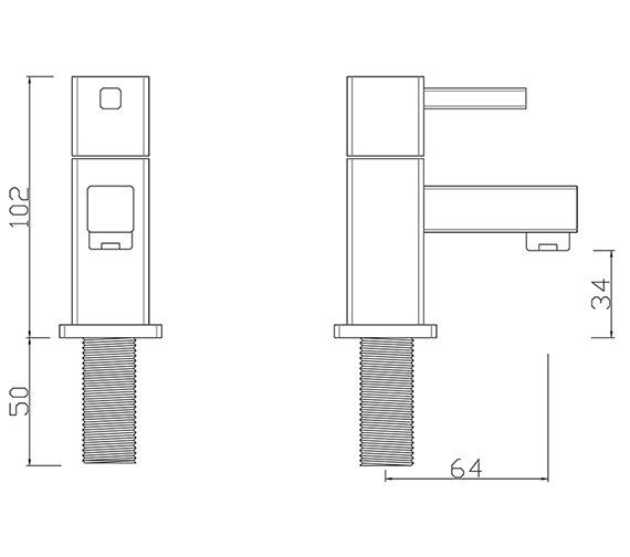 Technical drawing QS-V277 / PA/101/C