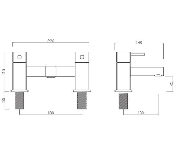 Technical drawing QS-V27901 / PA/104/C