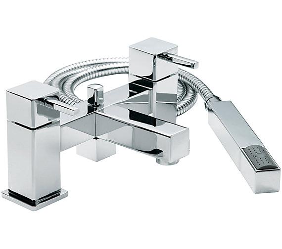 Saigttarius Pablo Deck Mounted Bath Shower Mixer Tap With No.1 Kit