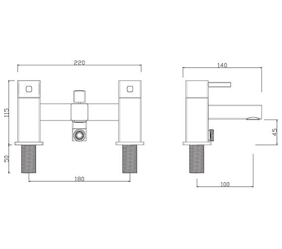 Technical drawing QS-V278 / PA/105/C