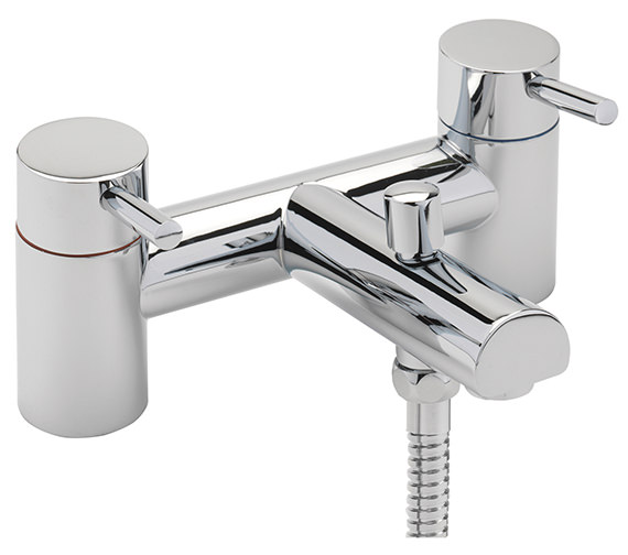 Sagittarius Piazza Deck Mounted Bath Shower Mixer Tap And Kit