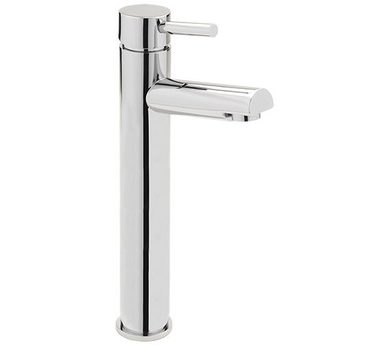 Sagittarius Piazza Extended Monobloc Basin Mixer Tap With Sprung Waste