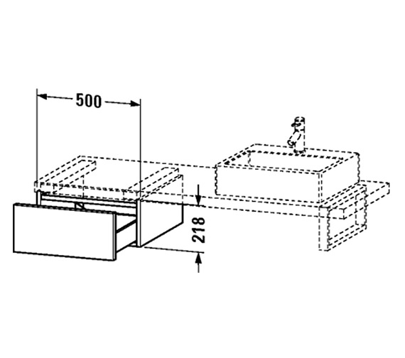 Technical drawing QS-V4532 / DL674604040