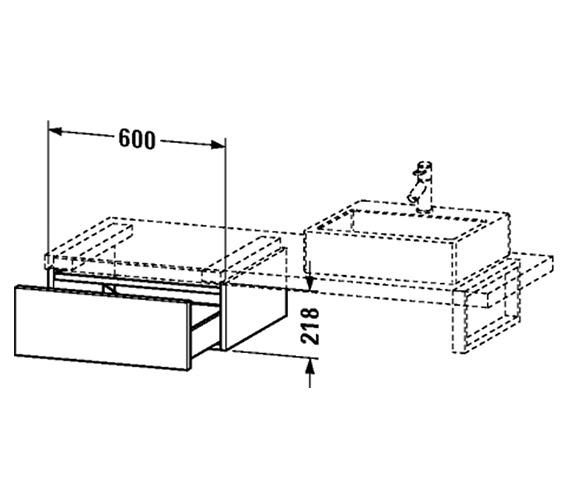 Technical drawing QS-V4533 / DL674702222