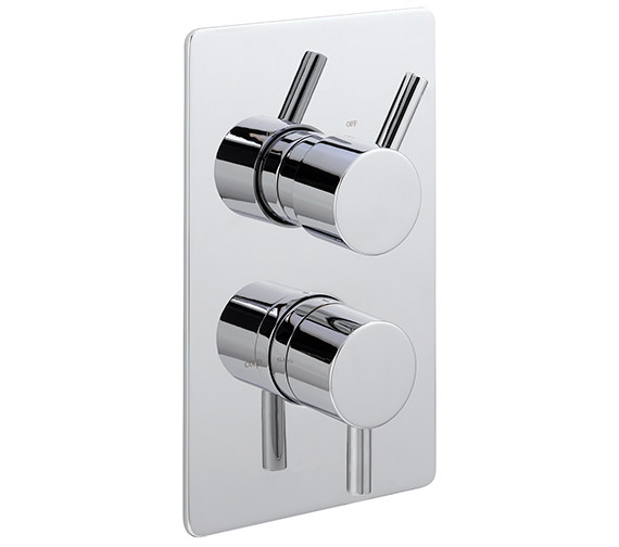Sagittarius Piazza Concealed Thermostatic Shower Valve With 2 Way Diverter