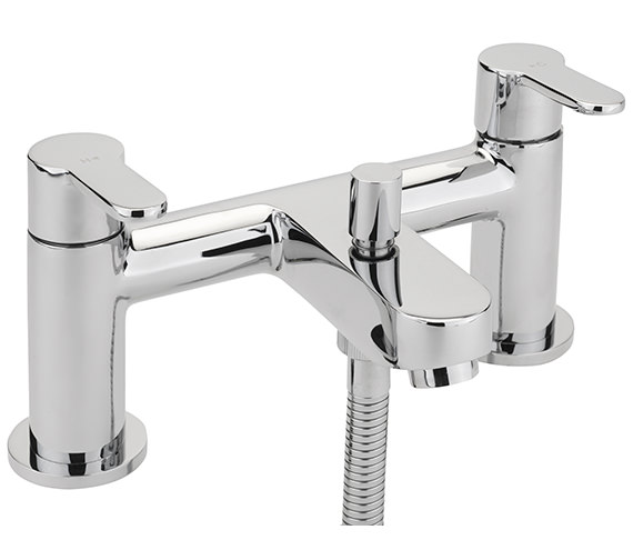 Sagittarius Plaza Deck Mounted Bath Shower Mixer Tap With No.1 Kit