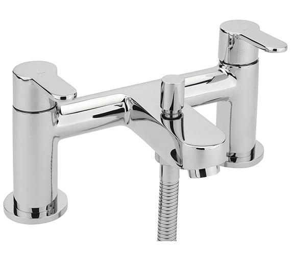 Sagittarius Plaza Deck Mounted Bath Shower Mixer Tap With No.1 Kit