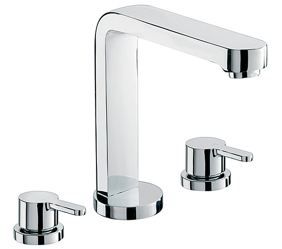 Sagittarius Plaza 3 Hole Deck Mounted Bath Filler Tap