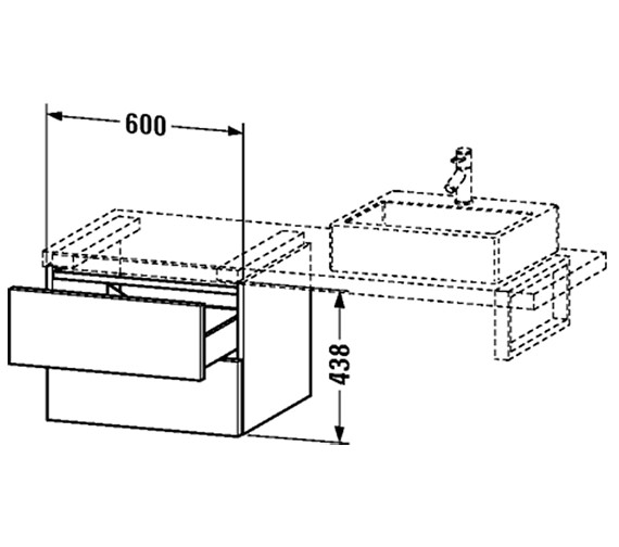Technical drawing QS-V4538 / DL684604040