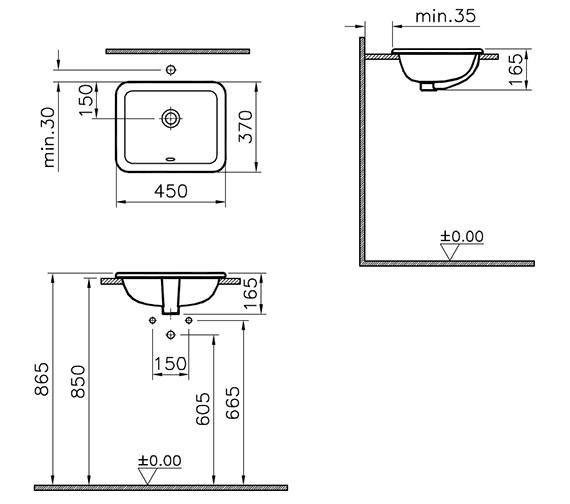 Technical drawing QS-V79947 / 5473B003-0642