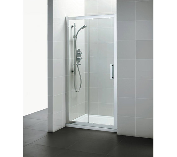 Ideal Standard Synergy Slider Shower Door 1400mm - L6290EO