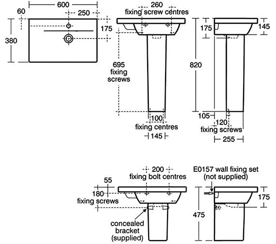 Technical drawing QS-V16164 / E133801