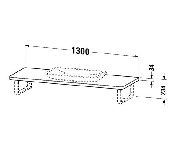 Technical drawing QS-V47376 / PV070CW8570