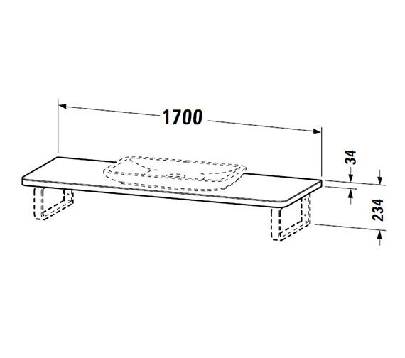 Technical drawing QS-V47386 / PV070CY8570