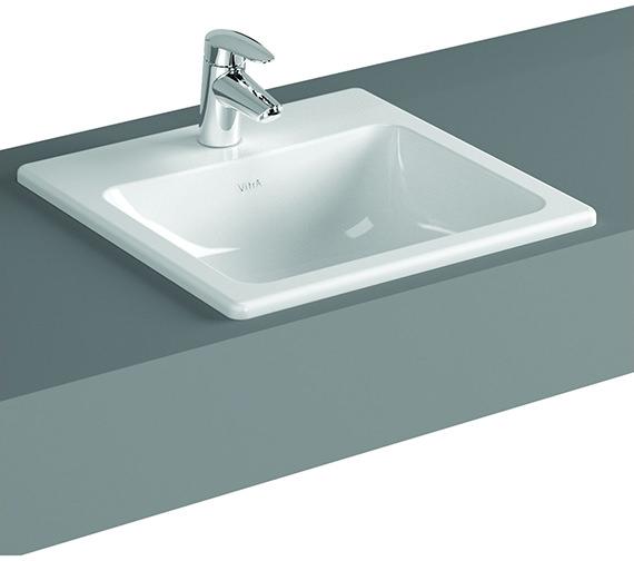 VitrA S20 500 x 450mm 1TH Countertop Basin - 5464