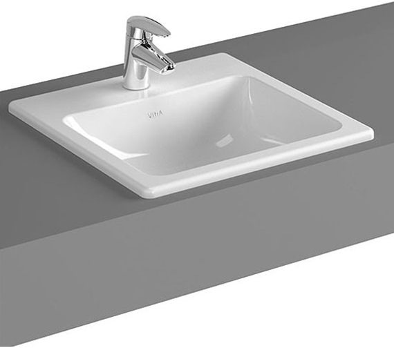 VitrA Commercial S20 1TH Countertop Basin 450mm Wide